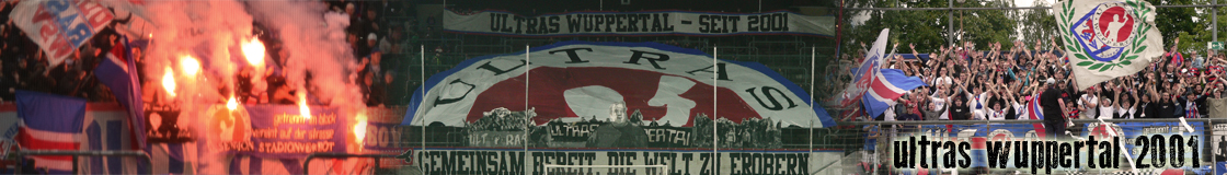 Ultras Wuppertal seit 2001